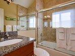 Bathroom #2- Shower/ tub combo