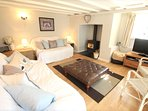 Georgeham Holiday Cottages Perrymans Lounge