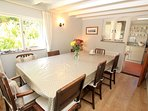 Georgeham Holiday Cottages Perrymans Dining