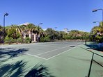 Tennis courts are right across street!