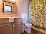 Full Private Master Bathroom