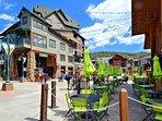 Winter Park Village restaurants and activities