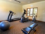 Clubhouse Work out room