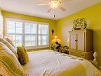 You will love hearing the waves from your Beach Front Master Suite.