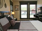 Third bedroom with flat screen TV