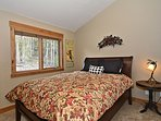 Fourth bedroom with queen located on the upper level