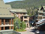 Central location to The Village at Winter Park Resort