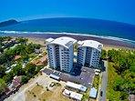 Diamante del Sol and Jaco beach aerial
