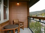Sip your morning coffee on your private balcony