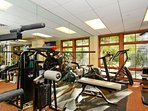Shared work out facility