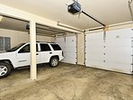 Heated garage- room for one vehicle