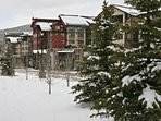 Fresh snow at Founders Pointe