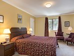 Master Suite with King Bed and attached Full Bathroom - Main Floor