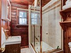 Bath with small bath tub