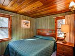 Bedroom 1 with a queen bed