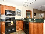 Cook delicious meals in this fully equipped kitchen
