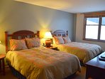 Two Queen beds with all new bedding