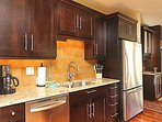 Fully equipped and high end kitchen