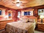 Bedroom 1 king bed, main floor