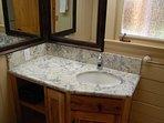 Full bathroom - tub/shower combo