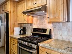 Kitchen stove and oven