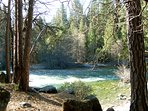 Just a short walk to the South Fork of the Merced River - A federally designated 'Wild & Scenic' river.