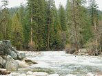 South fork of the Merced River - Federally designated a Wild & Scenic river