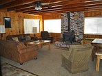 Step inside to the living/family room where your relaxation begins
