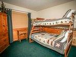 Bedroom 3- Full / Twin Bunk Set
