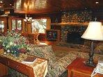 View as you enter cabin