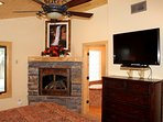 Fireplace in Master Suite 1