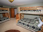 Bedroom 3: Full/Twin Bunk Bed Plus Twin Bunk Bed- 2nd Level