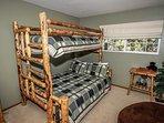 Bunk set (lower bed is full) bedroom 3
