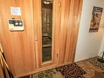 Sauna Area in the Game Room