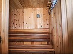 Sauna on Main Level  Off Of Bedroom 2