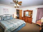 Bedroom 4- Master Suite- King Bed, TV, Private Bath- 3rd Level