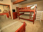 Bedroom 4- Full/Full Bunk Set Plus Twin Bed