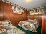Bedroom 4: Queen Bed Plus Twin Bed, TV