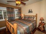 Bedroom 2: Queen Bed, TV