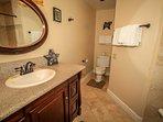 Shared Hallway Bathroom From Bedroom 2