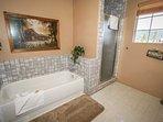 Jetted Tub -Master Bath Bedroom 2