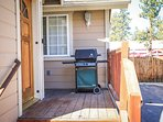Front Deck with Gas BBQ