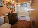 Downstairs shared hallway bath