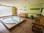 Hot tub in the Eagle Lodge of the Town Plaza Complex (across from the Deer Lodge)