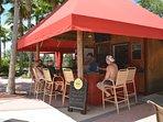 On-site facilities:- Poolside tiki bar