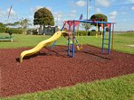 On-site facilities: children's play area and BBQ area