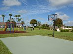 On-site facilities: basketball court