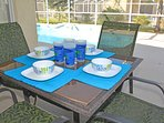 Patio Table poolside