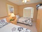 Bedroom 6 showing wall mounted TV