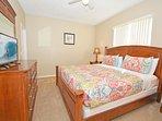Master bedroom 2 with king size bed, en-suite bathroom and flatscreen TV